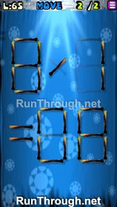 Matches Puzzle Walkthrough Episode 13 Level 65