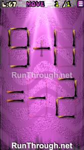 Matches Puzzle Walkthrough Episode 13 Level 67