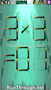 Matches Puzzle Walkthrough Episode 13 Level 72