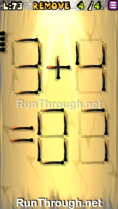 Matches Puzzle Walkthrough Episode 13 Level 73