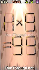 Matches Puzzle Walkthrough Episode 13 Level 75