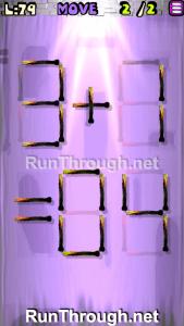 Matches Puzzle Walkthrough Episode 13 Level 79