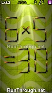 Matches Puzzle Walkthrough Episode 13 Level 82