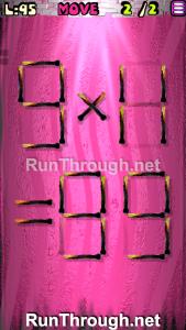 Matches Puzzle Walkthrough Episode 13 Level 95