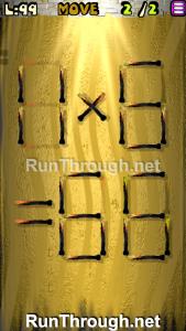 Matches Puzzle Walkthrough Episode 13 Level 99