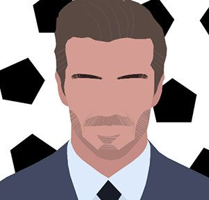 David Beckham Icomania Level 8