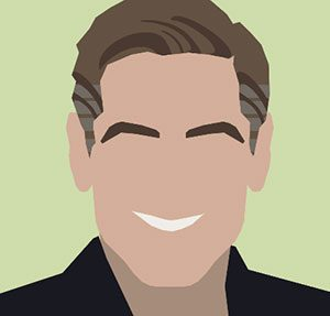 George Clooney Icomania Level 7
