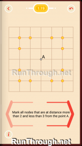 Pythagorea Walkthrough 1 Length and Distance Level 19