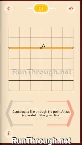 Pythagorea Walkthrough 2 Parallels Level 1