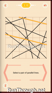 Pythagorea Walkthrough 2 Parallels Level 10