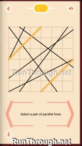 Pythagorea Walkthrough 2 Parallels Level 11
