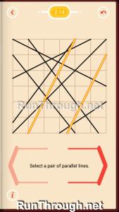 Pythagorea Walkthrough 2 Parallels Level 14