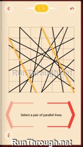 Pythagorea Walkthrough 2 Parallels Level 15