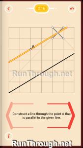 Pythagorea Walkthrough 2 Parallels Level 16