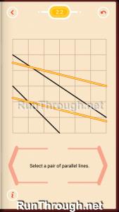 Pythagorea Walkthrough 2 Parallels Level 2
