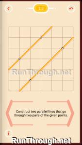 Pythagorea Walkthrough 2 Parallels Level 3