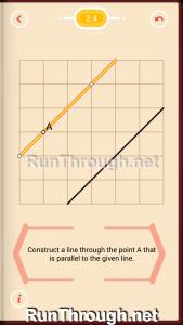 Pythagorea Walkthrough 2 Parallels Level 4