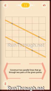 Pythagorea Walkthrough 2 Parallels Level 5