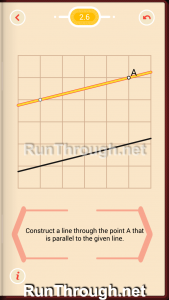 Pythagorea Walkthrough 2 Parallels Level 6
