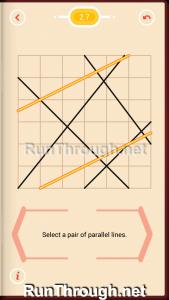 Pythagorea Walkthrough 2 Parallels Level 7