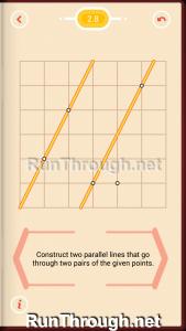 Pythagorea Walkthrough 2 Parallels Level 8
