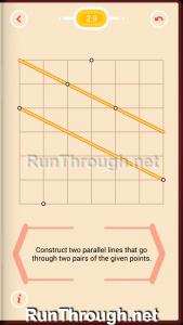 Pythagorea Walkthrough 2 Parallels Level 9