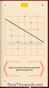 Pythagorea Walkthrough 5 Reflection Level 11