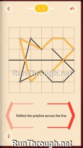 Pythagorea Walkthrough 5 Reflection Level 12
