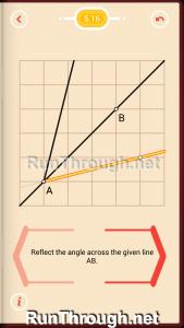 Pythagorea Walkthrough 5 Reflection Level 16