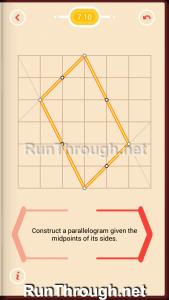 Pythagorea Walkthrough 7 Parallelograms Level 10