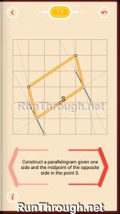 Pythagorea Walkthrough 7 Parallelograms Level 7