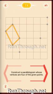 Pythagorea Walkthrough 7 Parallelograms Level 9