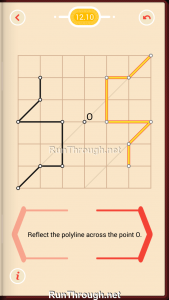 Pythagorea Walkthrough 12 Point-Symmetry Level 10