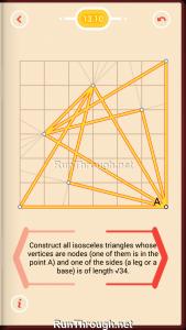 Pythagorea Walkthrough 13 Pythagorean-Theorem Level 10