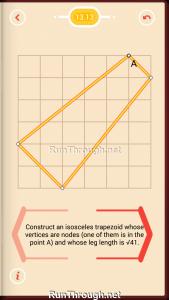 Pythagorea Walkthrough 13 Pythagorean-Theorem Level 13