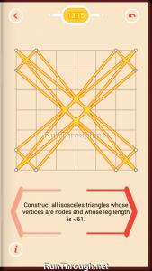 Pythagorea Walkthrough 13 Pythagorean-Theorem Level 15