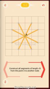 Pythagorea Walkthrough 13 Pythagorean-Theorem Level 2