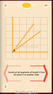 Pythagorea Walkthrough 13 Pythagorean-Theorem Level 4