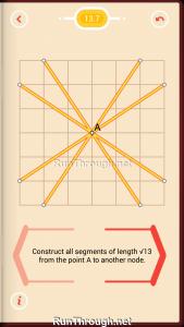 Pythagorea Walkthrough 13 Pythagorean-Theorem Level 7