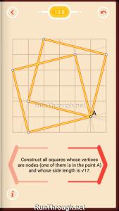Pythagorea Walkthrough 13 Pythagorean-Theorem Level 8