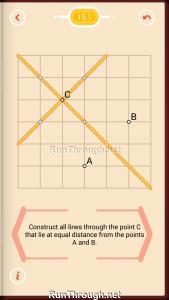 Pythagorea Walkthrough 15 Distance Level 1