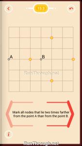 Pythagorea Walkthrough 15 Distance Level 3