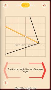 Pythagorea Walkthrough 16 Angle-Bisectors Level 4