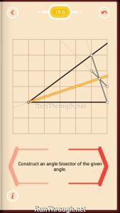 Pythagorea Walkthrough 16 Angle-Bisectors Level 6