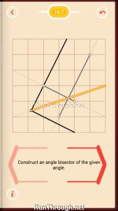 Pythagorea Walkthrough 16 Angle-Bisectors Level 7