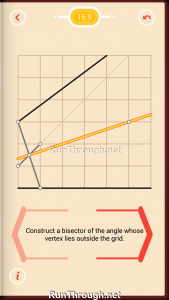 Pythagorea Walkthrough 16 Angle-Bisectors Level 9