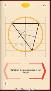 Pythagorea Walkthrough 17 Perpendicular-Bisectors Level 9
