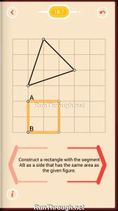 Pythagorea Walkthrough 18 Area Level 7