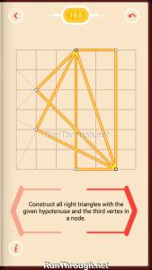 Pythagorea Walkthrough 19 Right-Triangles Level 6