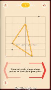 Pythagorea Walkthrough 19 Right-Triangles Level 7